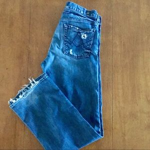 7 for all man kind A pkt relaxed size 30